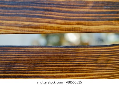 Close up view of old wood bench table for natural textured abstract surface background. Top view flat lay style design