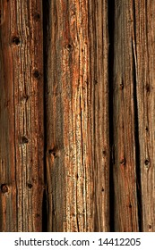 Close view of a rustic wood background