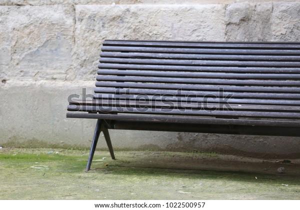 Cool Close View Wooden Dark Green Painted Stock Photo Edit Now Uwap Interior Chair Design Uwaporg
