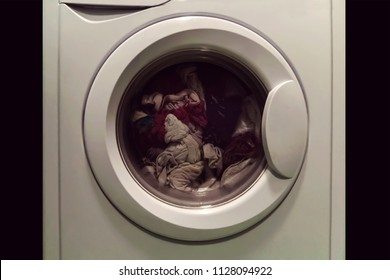 Coin Operated Laundry Images, Stock Photos & Vectors