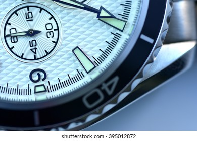 Close up watch in different angles