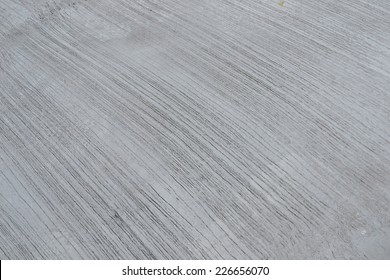 close up wet concrete road