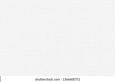 close up of white cotton fabric canvas texture background