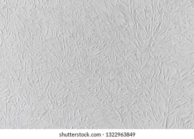 Close Up Of White Embossed Paintable Wallpaper Texture, Detailed  Background, Background, Photo Texture
