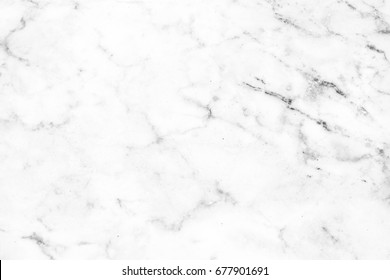 Close up White marble texture with natural pattern, Empty template marble board can be used as background for display or montage your top view products.