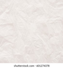 close up of white paper surface - crumpled texture