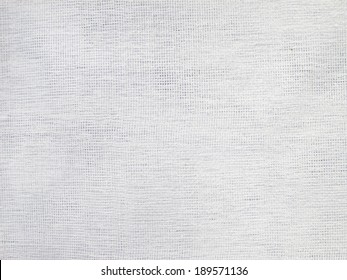 Close up of white woven fabric structure - Shutterstock ID 189571136