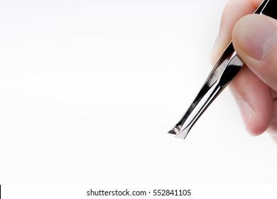 Tweezers Eyebrow Images, Stock Photos & Vectors | Shutterstock