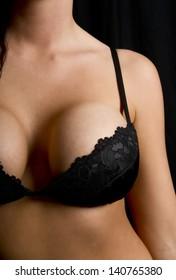 Close up of a woman's torso