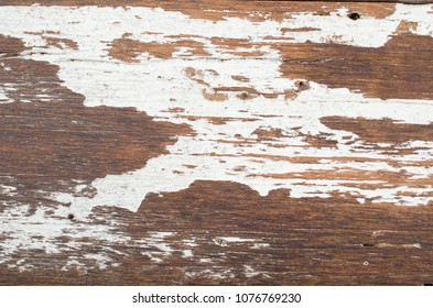 close up wood texture with white paint,abstract background.shape of wave