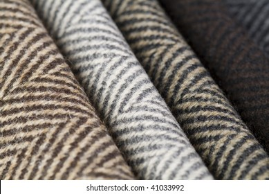 close up of wool textile