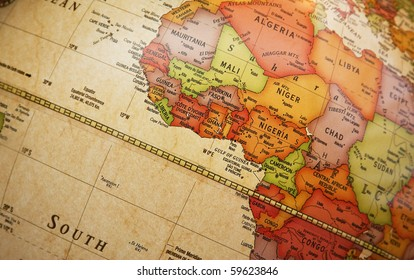 Africa Detailed Map.Africa Detailed Map Stock Photos Images Photography