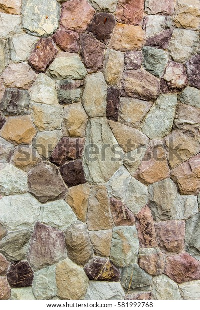 Closed up background of Rock wall, stone wall