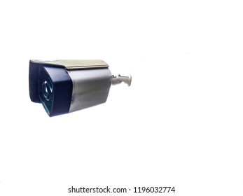 closed-circuit television or closed circuit camera .,White backdrop,Security,soft focus