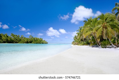 The closest place to heaven on earth is One Foot Island in the Aitutaki lagoon, Cook Islands, South Pacific