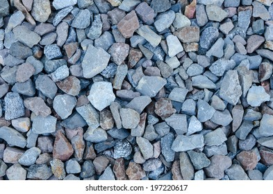 closeup of an abstract background made of stones
