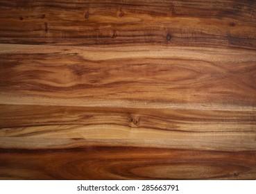 Closeup of Acacia wood texture