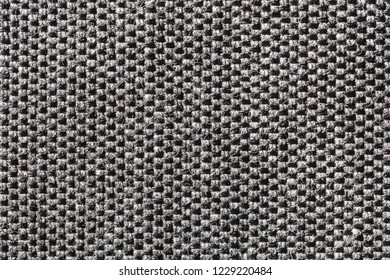 Close-up background of black fabric or abstract black fabric texture. Black background.