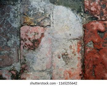 closeup background of bricks