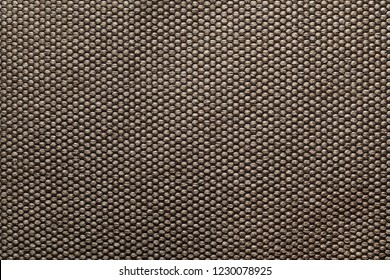 Closeup background of brown fabric or abstract brown fabric texture. Brown background.