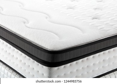 Closeup background of mattress