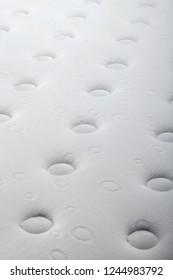 Closeup background of mattress