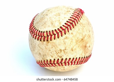 Closeup of a Baseball