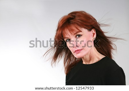 Mature red head