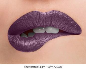 Lippen offen naturist #1