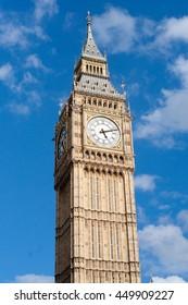 Close-up of the Big Ben, London