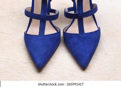 Black milf blue toenails