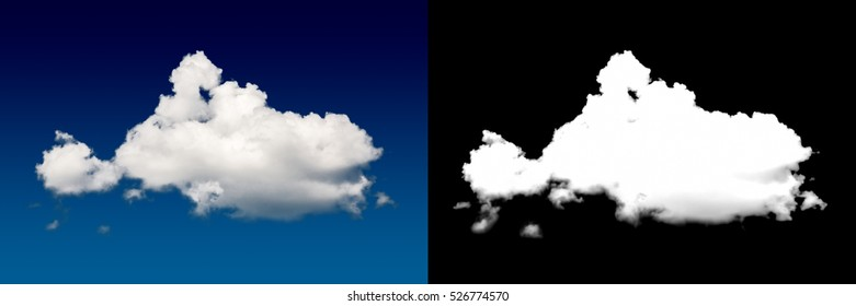 Closeup blue sky with cloud