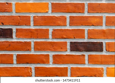 Close-up of brick wall background.