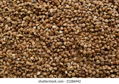 Close-up of buckwheat background