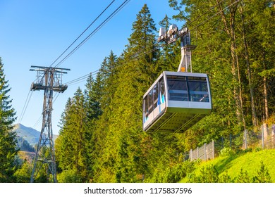 Close-up cabin funicular to Kasprowy Wierch, Poland
