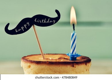 Brilliant Moustache Cake Images Stock Photos Vectors Shutterstock Funny Birthday Cards Online Necthendildamsfinfo