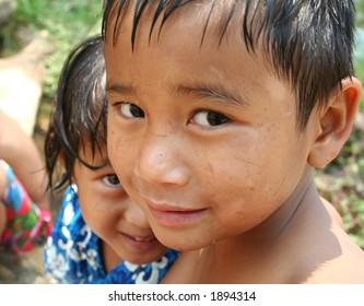 Close-up children