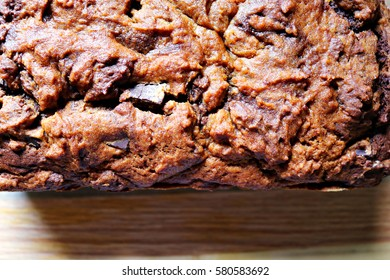 Close-up of Chocolate Chip Loaf