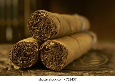 Close-up - cigars