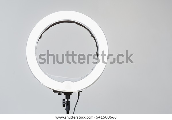 Neon White Stock Lamp Now541580668 Circular Closeup Led Photoedit thsQxBrdoC