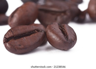 closeup of coffee bean