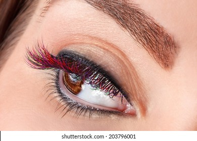 Eyelash Coloring Images, Stock Photos & Vectors | Shutterstock