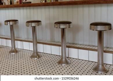 Astounding Bilder Stockfoton Och Vektorer Med Diner Stools Shutterstock Pabps2019 Chair Design Images Pabps2019Com