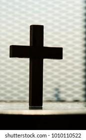 Closeup of cross