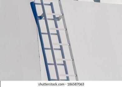 Close Up Of A Cruise Ship Ladder, Hornsund, Norway