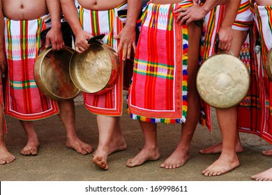 Close-up of dancers from the Philippines.