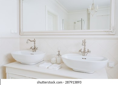 Retro Bathroom High Res Stock Images Shutterstock