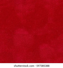 Closeup detail of aged red velvet  background. Seamless square texture, tile ready. High quality image.