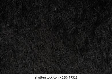 black carpet texture. Closeup Detail Of Black Carpet Texture Background.