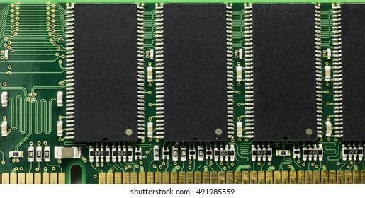 closeup detail electric green personal computer